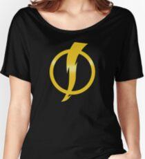 Static Shock Logo Women's Relaxed Fit T-Shirt
