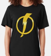 Static Shock Logo Slim Fit T-Shirt
