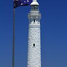 Where Two Oceans Meet - Cape Leeuwin Lighthouse, Augusta, WA by cookieshotz