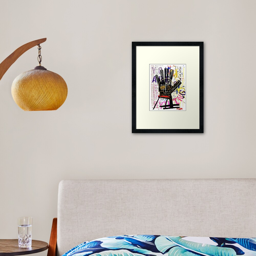 You Are Everything Framed Art Print