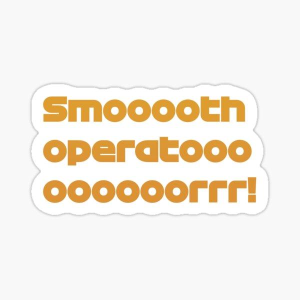 Smooth Operator Carlos Sainz Sticker