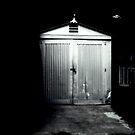 Tin garage by jeff lamb