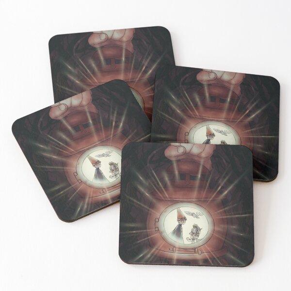 The Cursed Lantern Coasters (Set of 4)