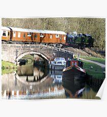 Caldon Canal Poster