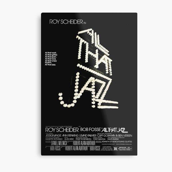 All That Jazz Poster Metal Print