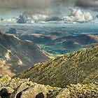 Bowfell....The Great Slab by Jamie  Green
