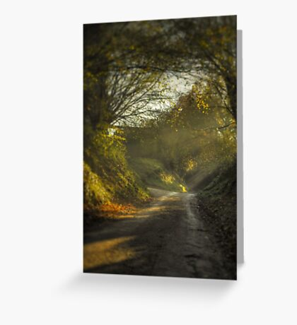 Blackheath Backroad Greeting Card
