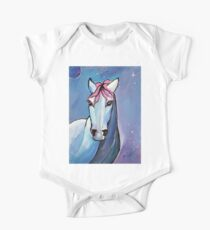 Polaris Whimsical Horse Art by Valentina Miletic One Piece - Short Sleeve