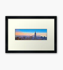 View From 30 Rock Framed Print