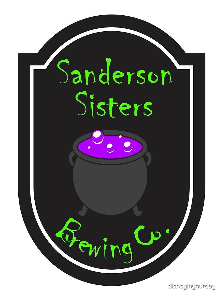 Sanderson Sisters Brewing Company by disneyinyourday