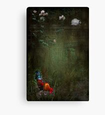 """Rustle Continued ....he felt as though he was being watched..."" Canvas Print"