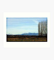 Snohomish Landscape Art Print