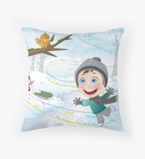 All For the Joy of A New Year!!! Throw Pillow