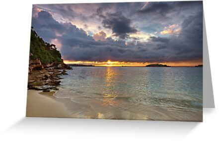 Bay Sunset by Mark  Lucey