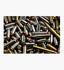 Bullets Photographic Print