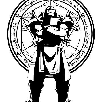 Alphonse Elric. Human transmutation. Fullmetal Alchemist Brotherhood by LAZARE-TENDO