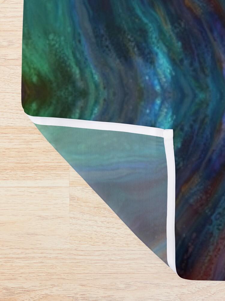 Alternate view of Aurora: rainbow Shower Curtain