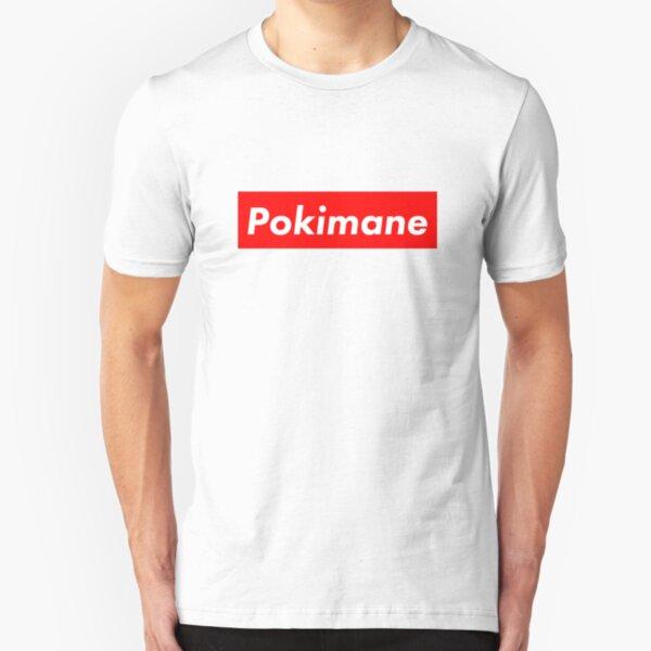 Pokimane - Supreme Slim Fit T-Shirt