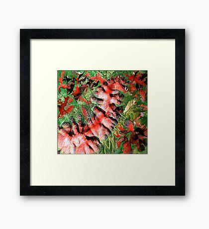 """Dragon Hills"" Framed Print"