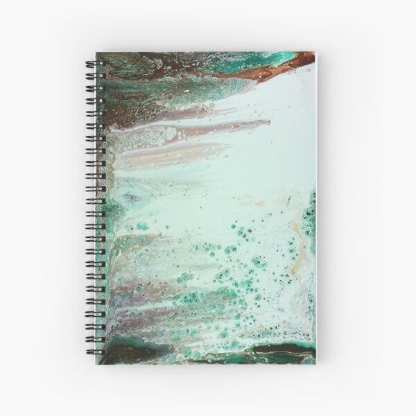 Before the Waterfall Spiral Notebook