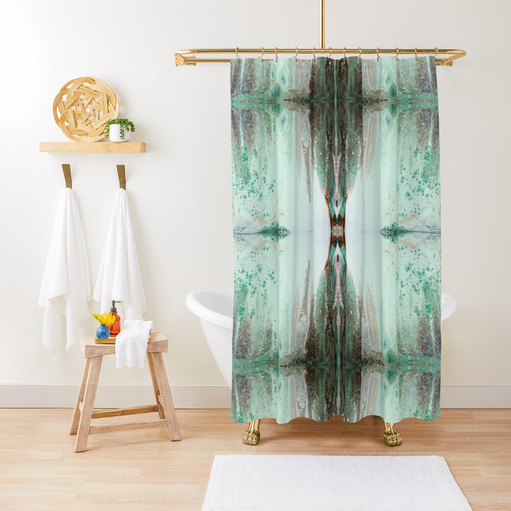 Before the Waterfall Shower Curtain