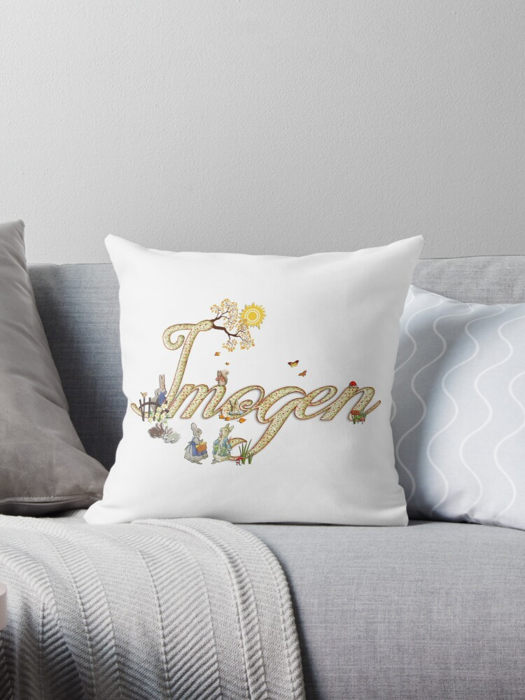 IMOGEN / personalised name illustration  by FSImages