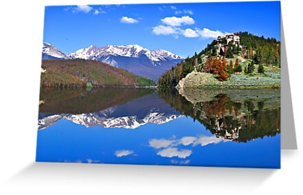 Mountain Reflections by Gregory Ballos