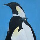 Emperor Penguins by Lee Twigger