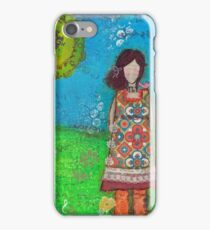 She loved music because it soothed her soul iPhone Case/Skin
