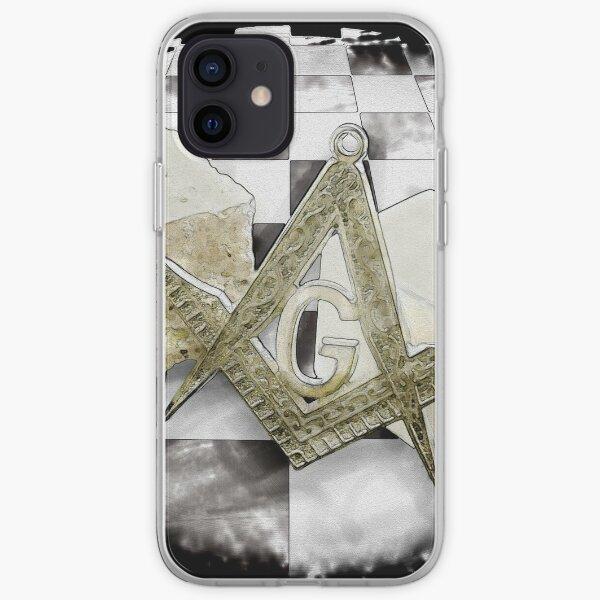 Masonic symbols iPhone Soft Case
