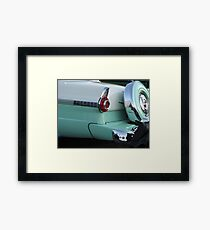 Old Auto Framed Print