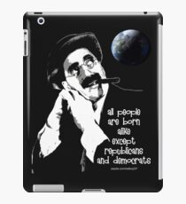 groucho iPad Case/Skin