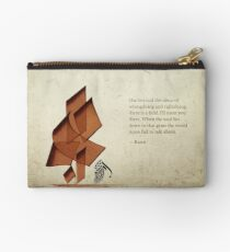 Arabic calligraphy - Rumi - Beyond Zipper Pouch