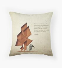 Arabic calligraphy - Rumi - Beyond Throw Pillow