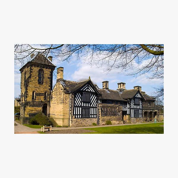 Shibden Hall - West Yorkshire built circa 1420 Photographic Print