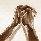 Abstraktes Gebet III von Robert S. Lee von robertsleeart