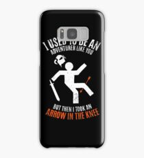 Arrow In the Knee 2.0 Samsung Galaxy Case/Skin