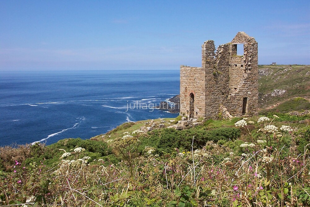 Botallack tin mines, Cornwall by juliaguthrie
