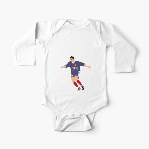 Zinedine Zizou Zidane Baby Body Langarm