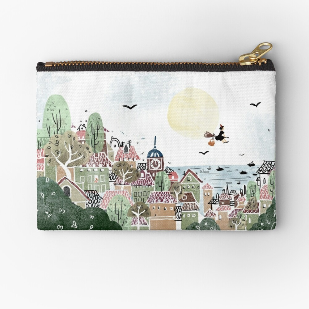 Just Another Delivery Zipper Pouch