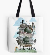 The Moving Castle Tote Bag