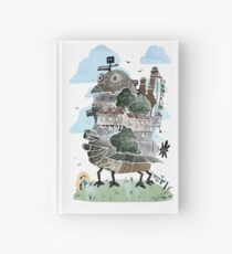 The Moving Castle Hardcover Journal
