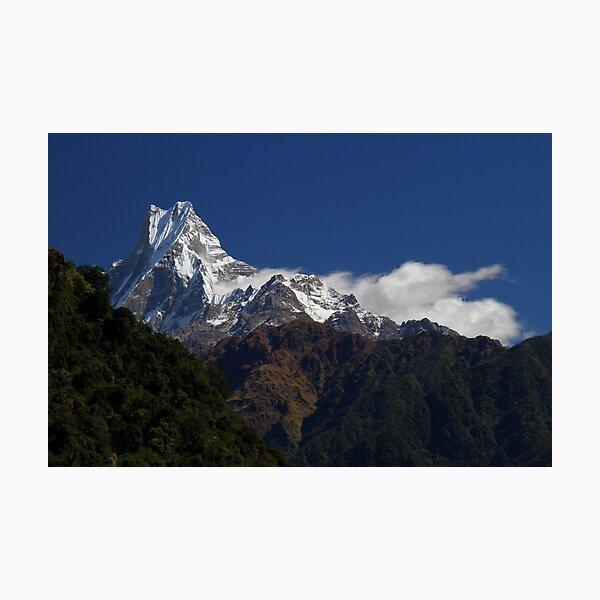 Machhapuchre, Nepal. Photographic Print