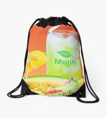 Summer Memory miniature art Drawstring Bag