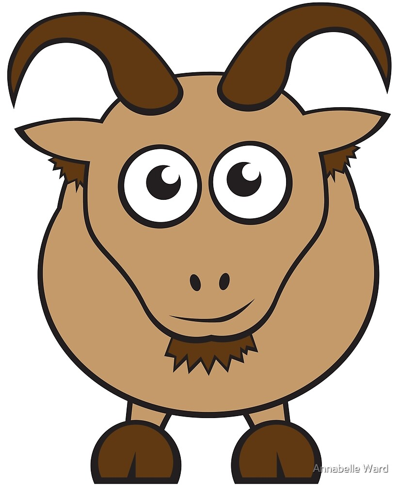 Grover The Goat in Brown by Annabelle Ward