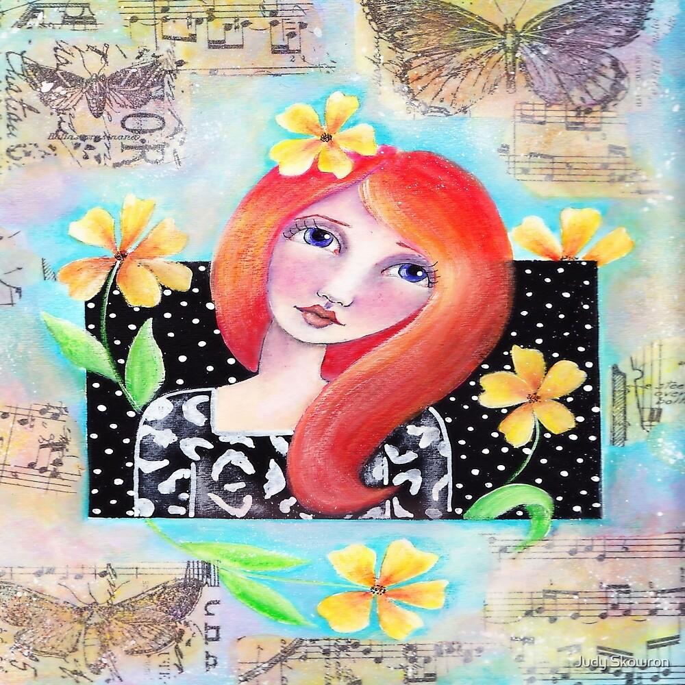 Flower Girl by Judy Skowron