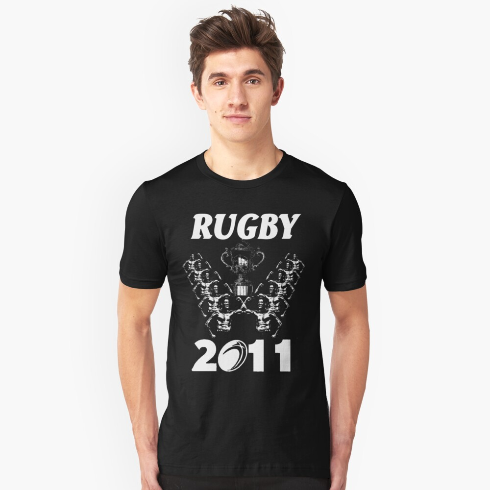 rugby world cup t-shirt Unisex T-Shirt Front