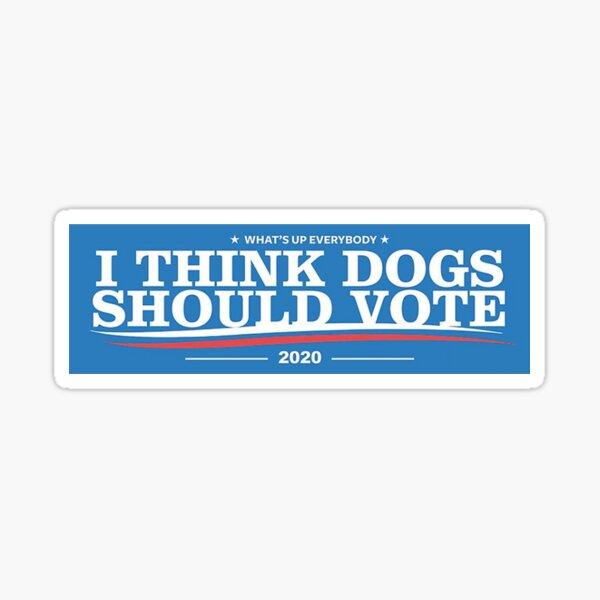 Dogs political campaign (2020) Sticker
