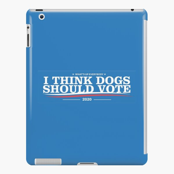 Dogs political campaign (2020) iPad Snap Case
