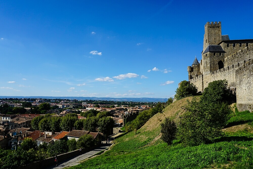 View from Carcasonne by skippy